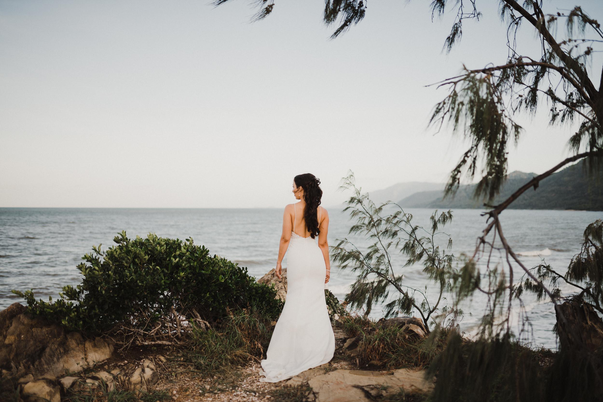 The Raw Photographer - Cairns Wedding Photographer - Thala Beach - Port Douglas Beach Elopement -  Made with love Bridal Dress-43.jpg