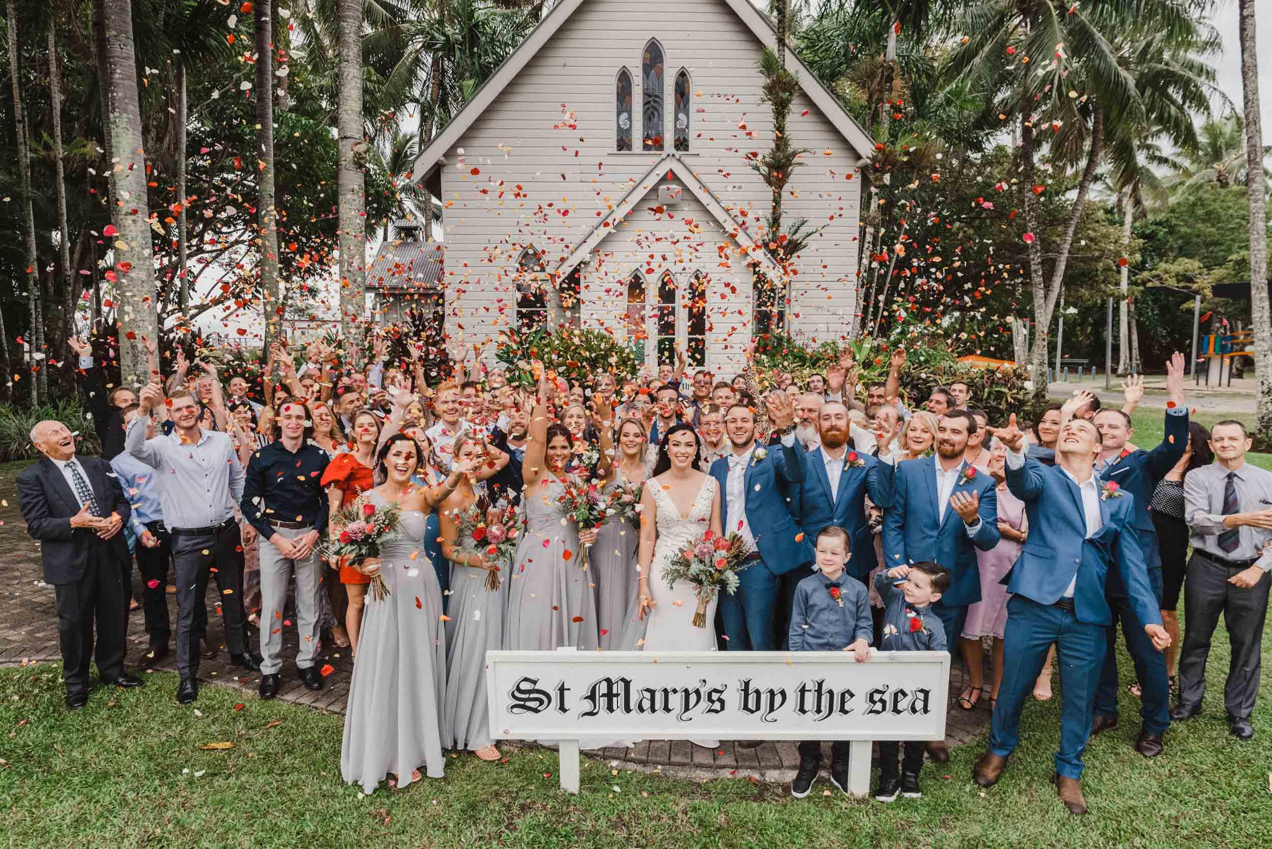 The Raw Photographer - Port Douglas Wedding Photographer - St Mary Church - Cairns Beach Photos-37.jpg