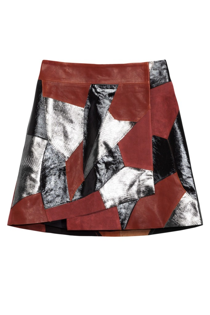 Leather--Suede-skirt----185
