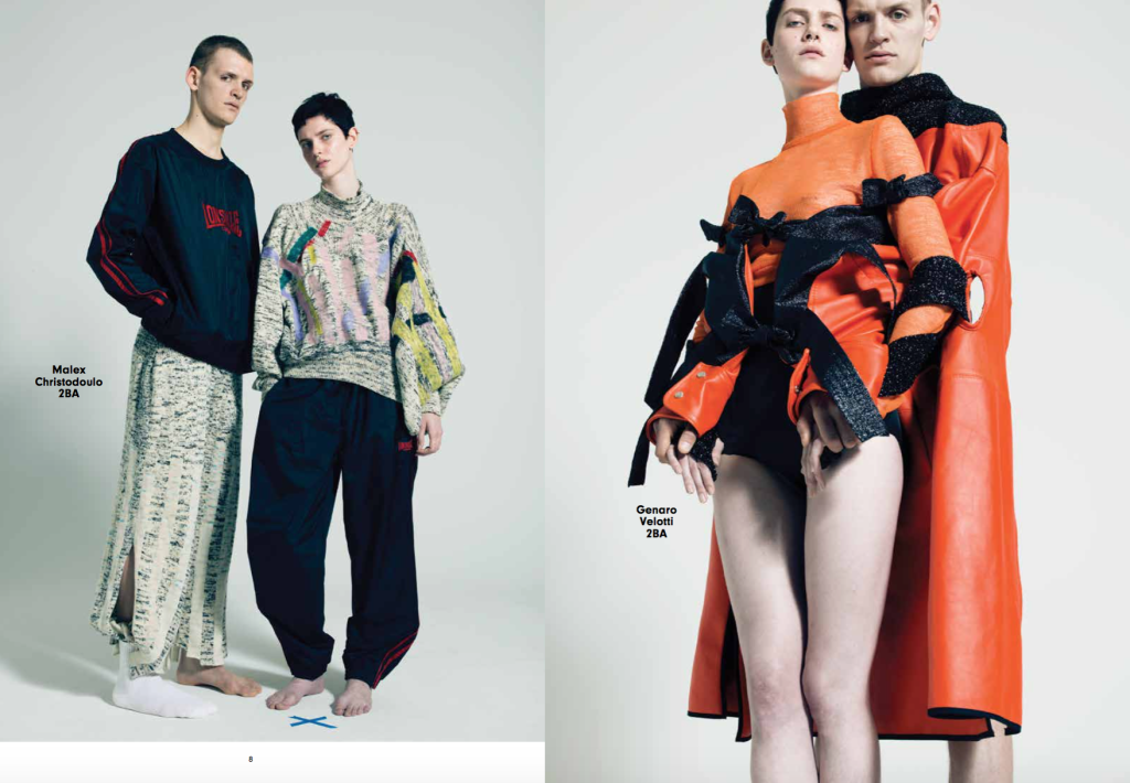 The Future Is Now – A selection of some of the Fashion Department's most promising BA students by  Pierre Debusschere