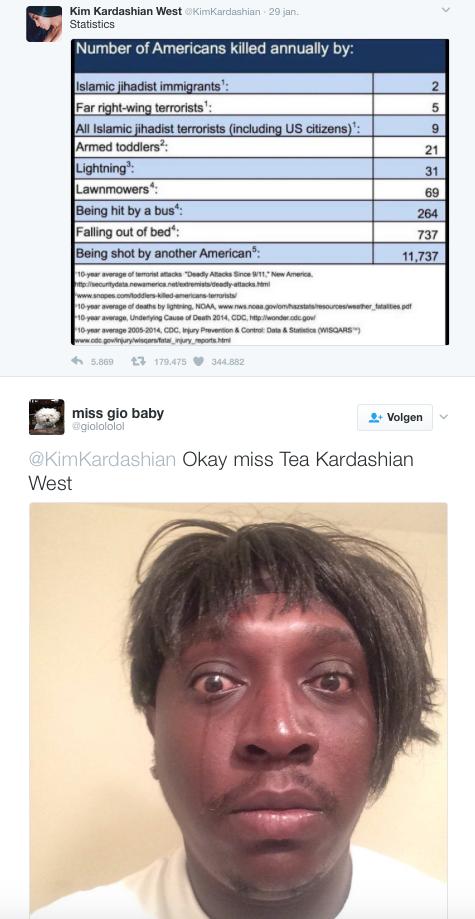 kim kardashian reaction