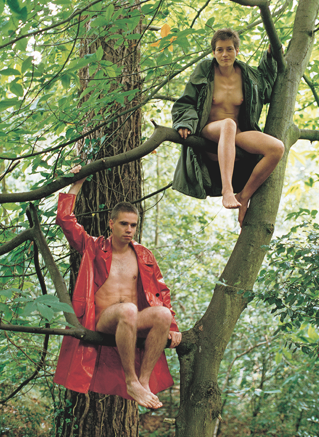 Lutz and Alex sitting in the trees (1992)