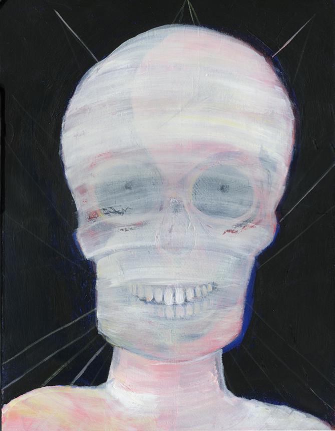 Katrien Matthys-skullfaced