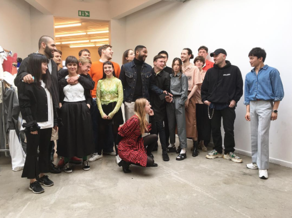 The  class of 2017  connects with alumnus  Demna   Gvasalia