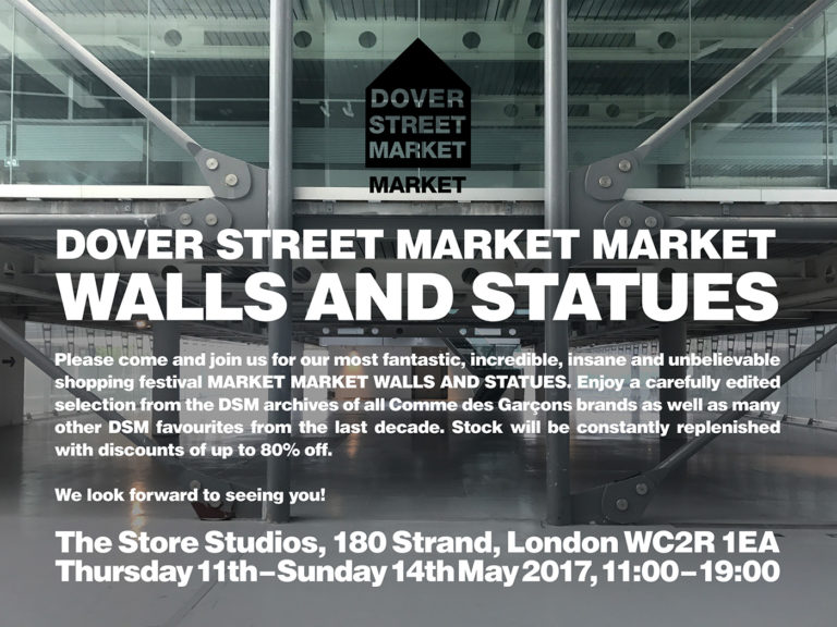 Dover Street Market stock stale