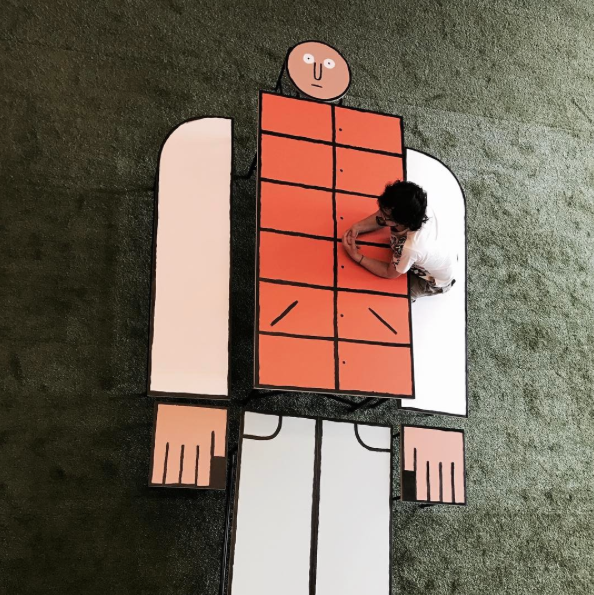 "Jean Jullien – ""Table Man"""