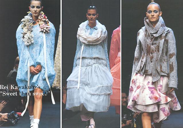Comme des Garçons AW95 (images: StyleZeitgeist & FashionSpot )