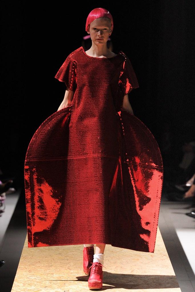 Comme des Garçons AW12 (image: Vogue )