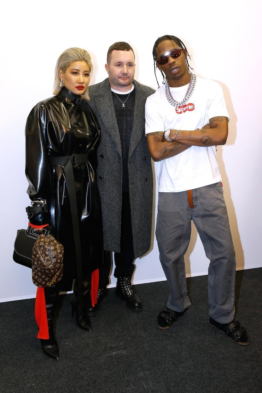 Yoon, Kim Jones & Travis Scott in 2017 (image: Vogue)