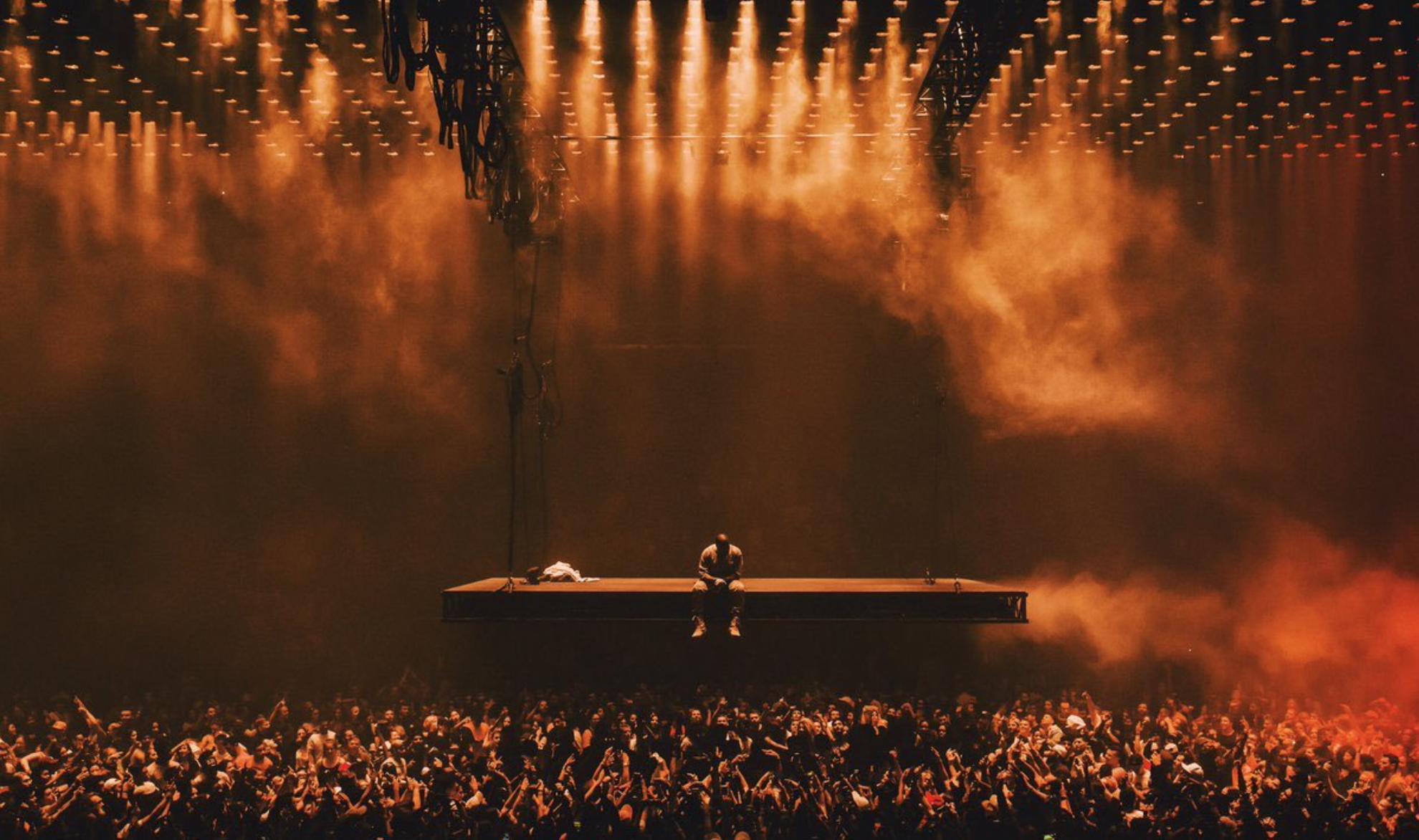 Kanye West 'Saint Pablo' tour (2016) creative direction: Virgil Abloh & Donda