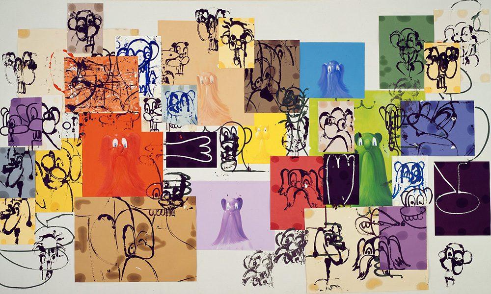 'Paper Faces' (1997) - George Condo
