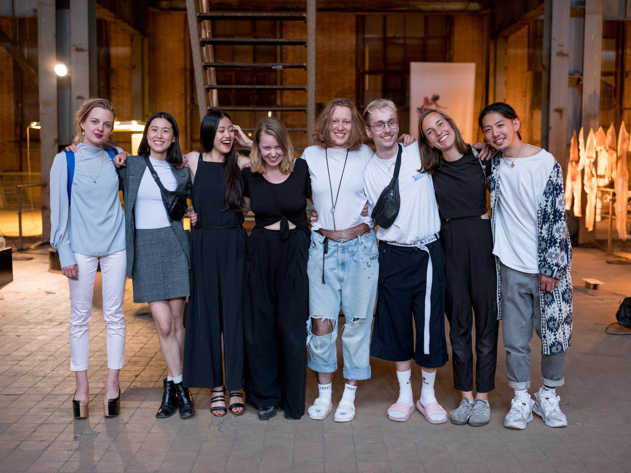 KABK class of 2018 (Fashion + Textile) (c)  Marc Medina