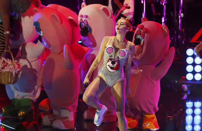 Todd James costume & bear design for Miley Cyrus (2013)