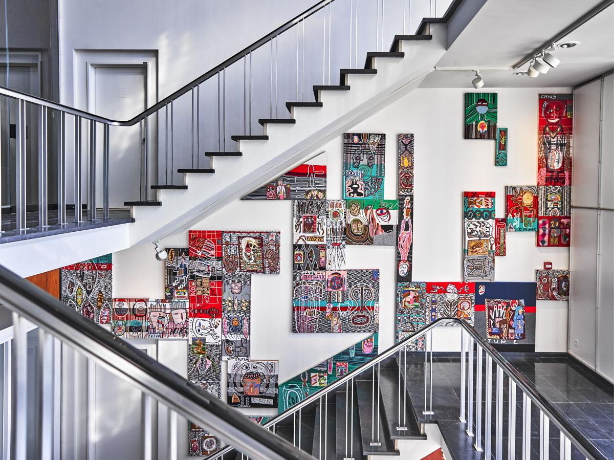 Installation Klaas Rommelaere - (c) Stany Dederen