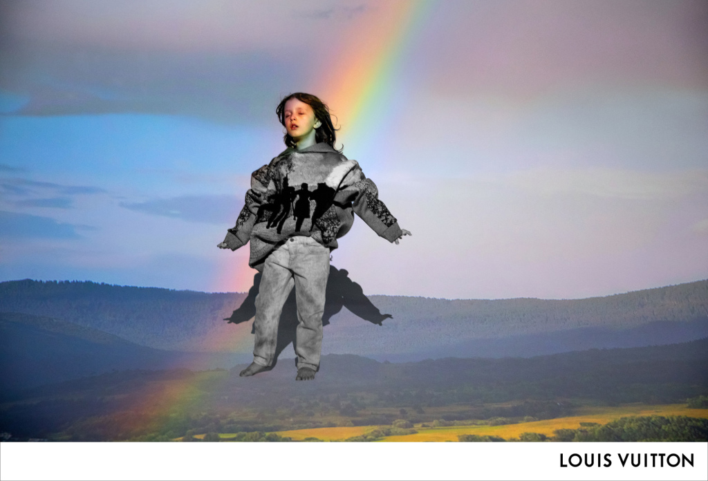 Image by Inez van Lamsweerde and Vinoodh Matadin for Louis Vuitton c/o Virgil Abloh