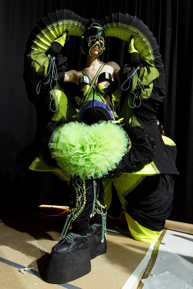 3rd Bachelor Sensen Li / (c) Maarten De Laet for Antwerp Fashion Department