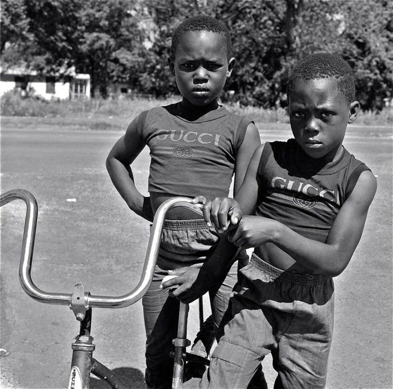 Earlie Hudnall, Gucci Brothers, 3rd Ward, Houston, TX, 1990 - on view at Kunsthal