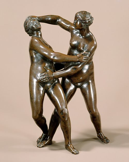 Fig. 4. After a composition by Leonhard Kern, Nude Women Wrestling, bronze, mid-17th century, The Metropolitan Museum of Art, New York, NY.