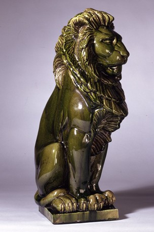 Fig. 2 – William Burten, after Alfred George Stevens, Lion, British Museum, London