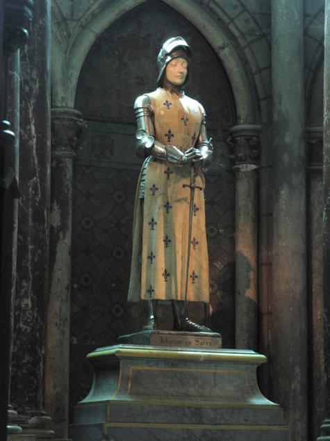 Prosper d'Épinay,  Jean d'Arc au Sacre , Reims Cathedral, 1898-1901