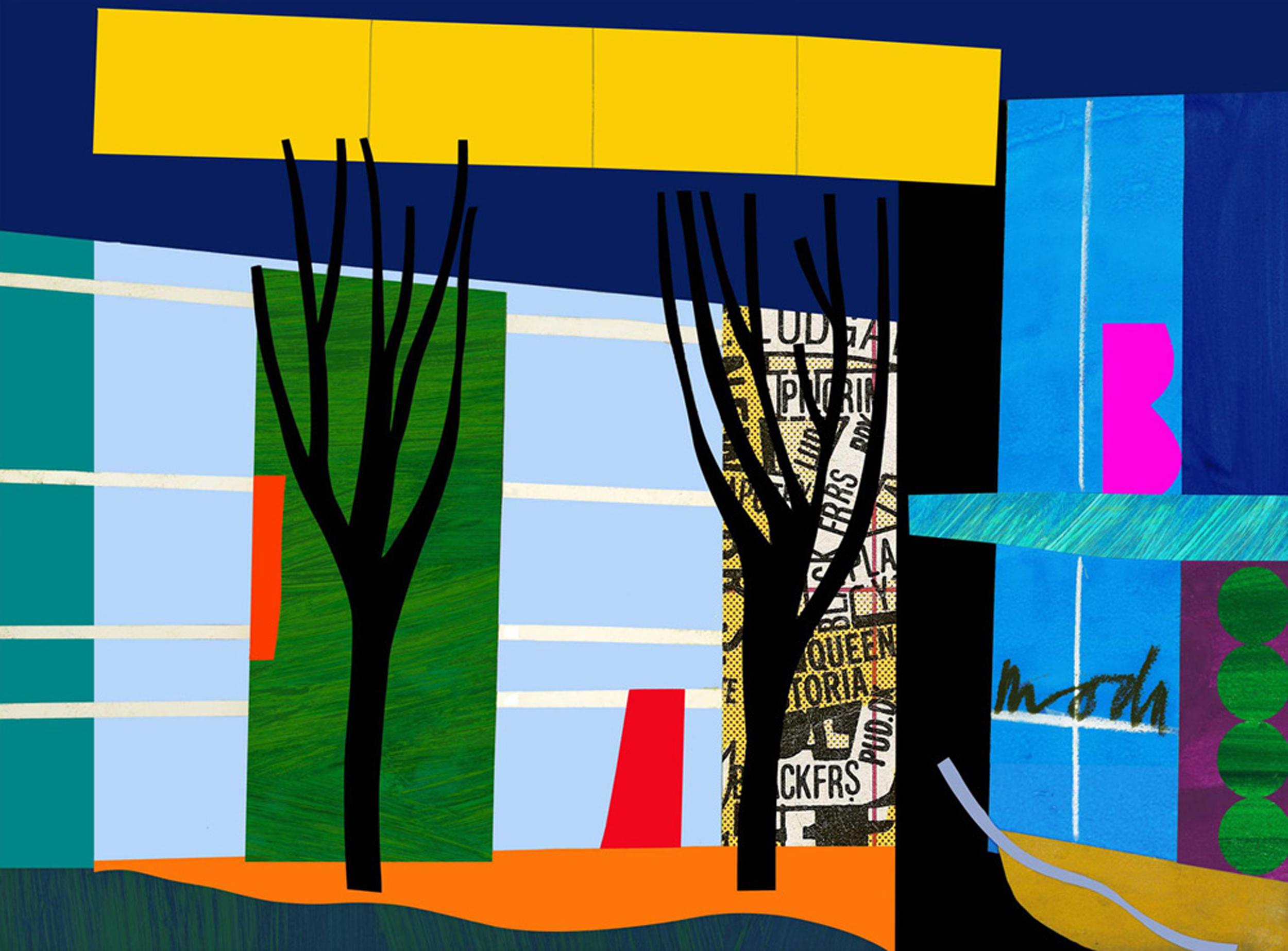 Bruce McLean - Designer Trees