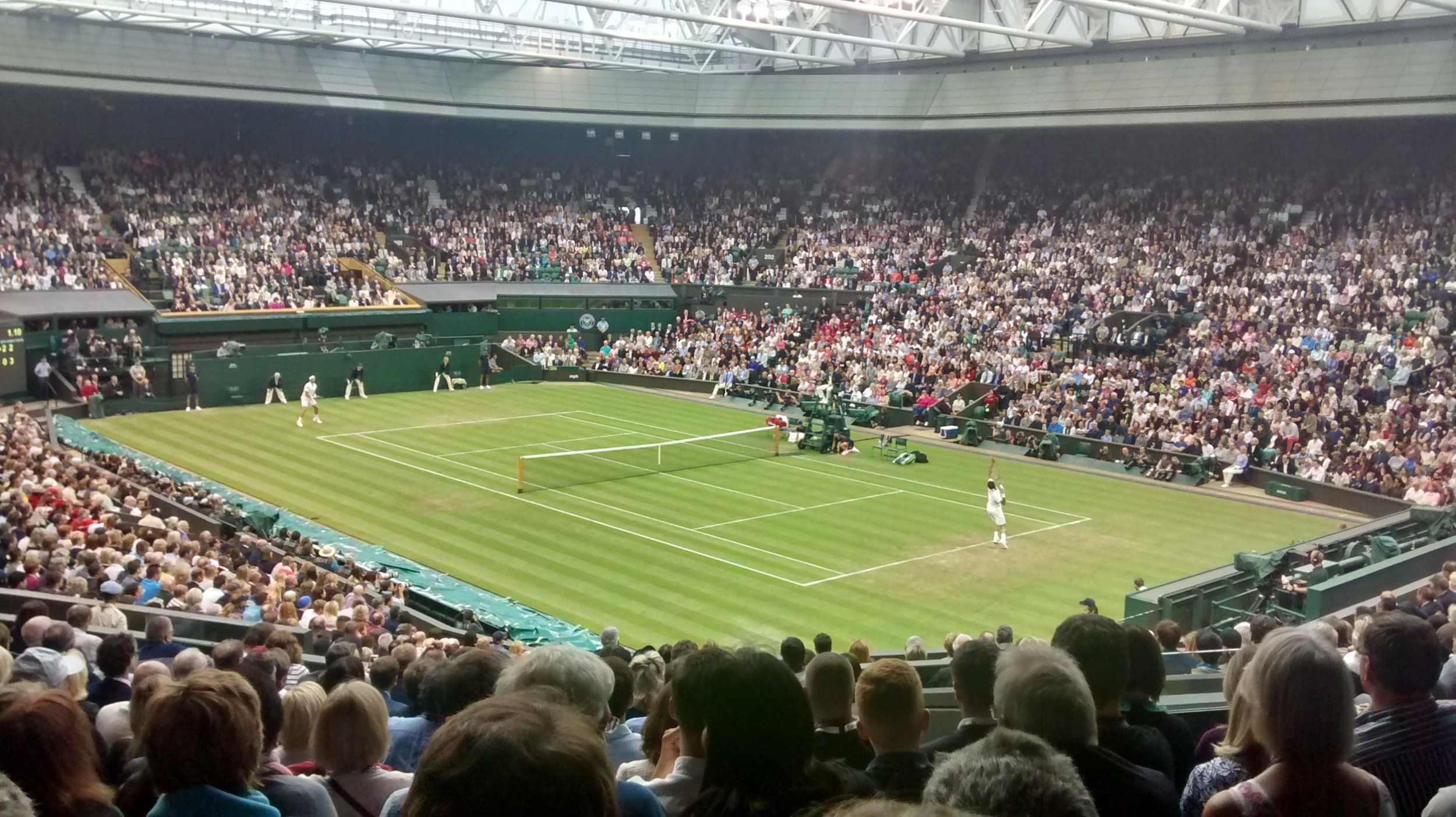 Resale tickets to see Roger Federer on Centre Court two year's ago!