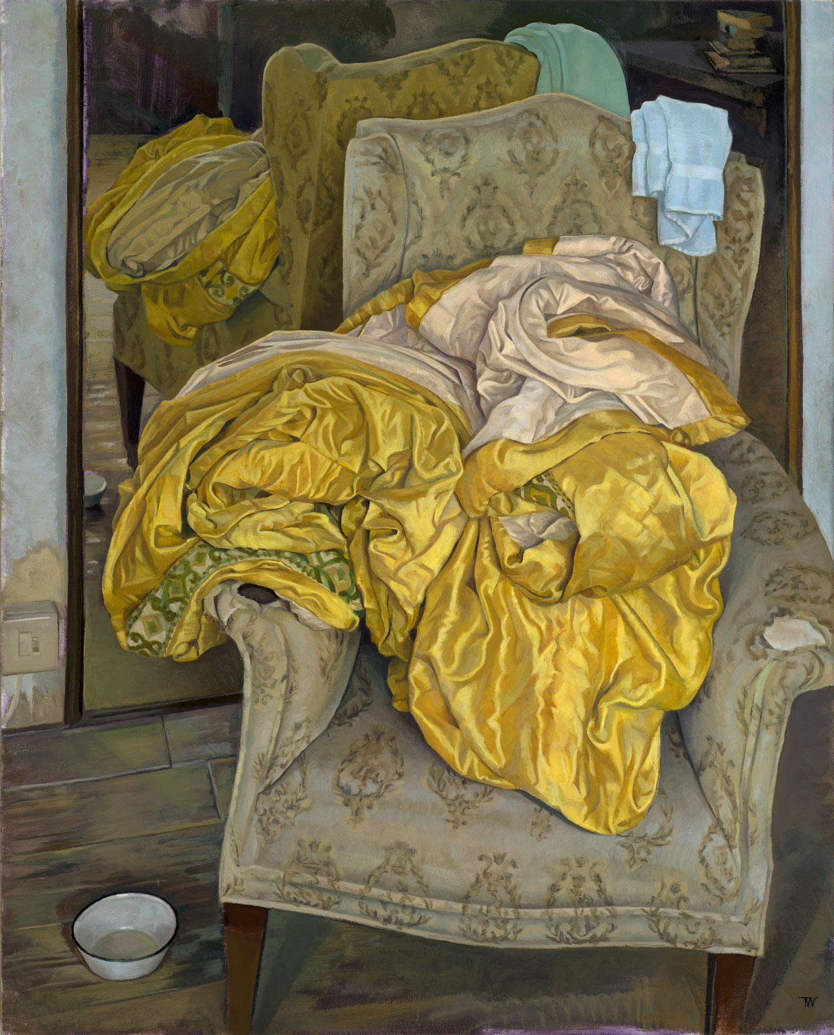 'The Golden Cloth'  oil on linen 76 x 61 cm (30 x 24 inches). private collection.