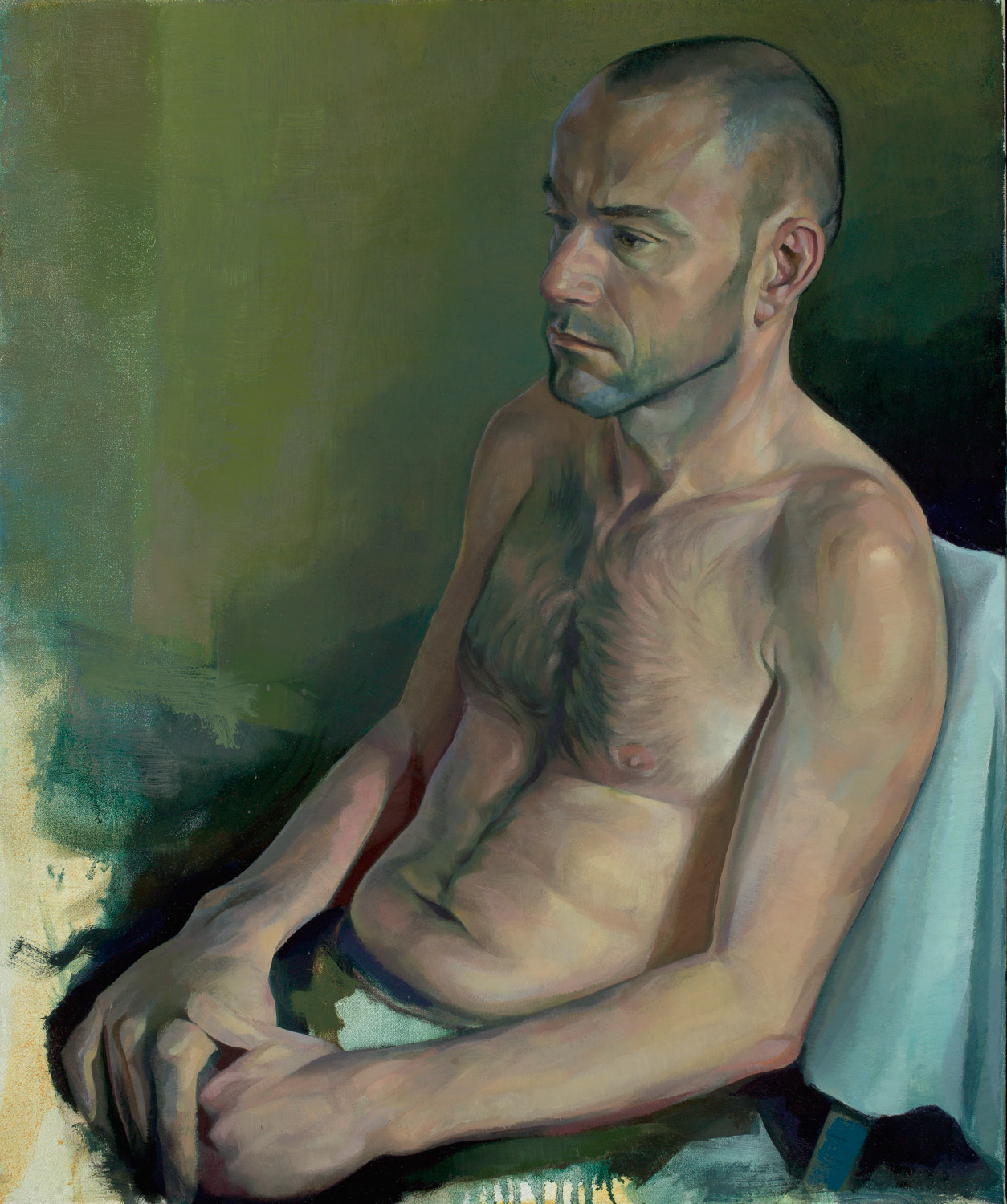 """'Carlo' 70x60cm (28""""x24"""")oil on linen. Private collection."""