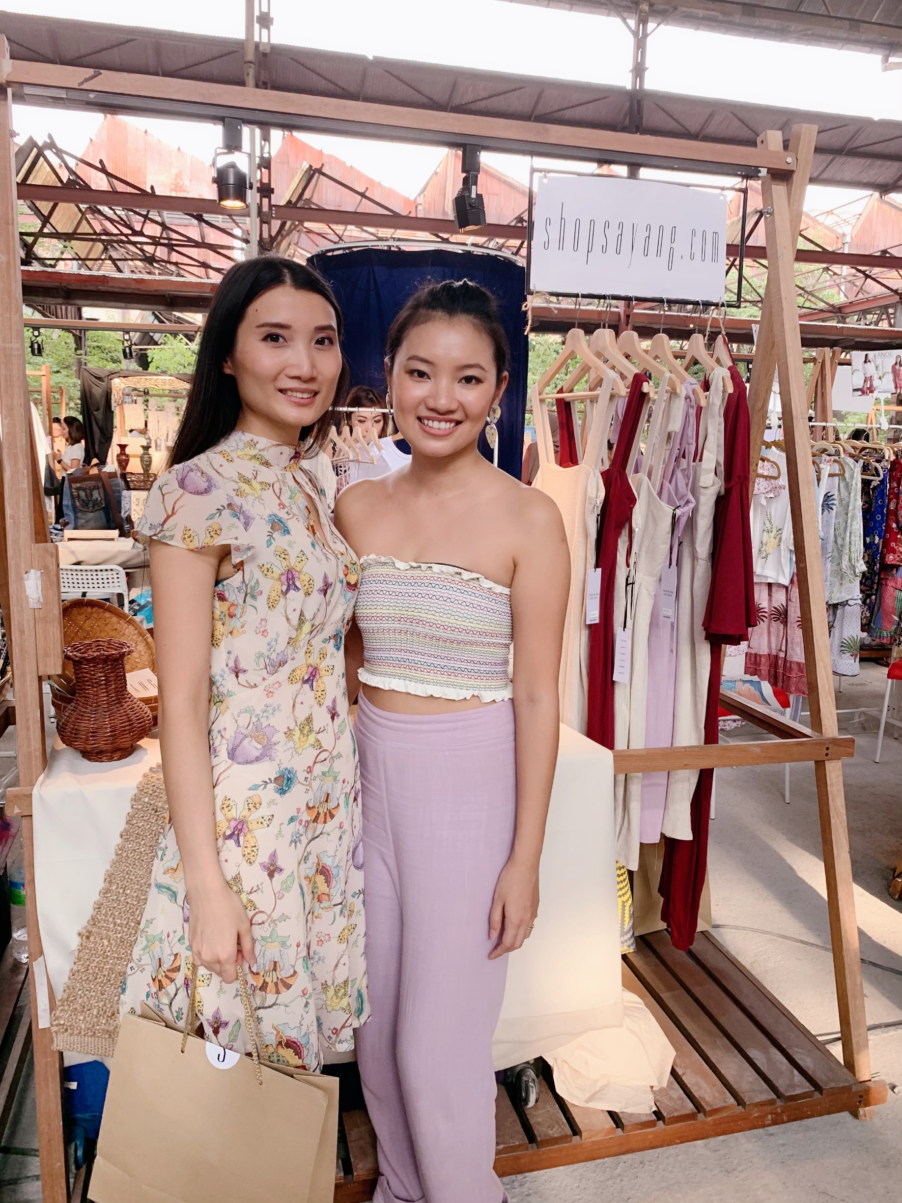 #SAYANGBABES - Be ready to top the world with a twist of femininity and minimalism that cares for the People, Planet and Fashion!Check out SAYANG at www.ShopSayang.com and their instagram page.