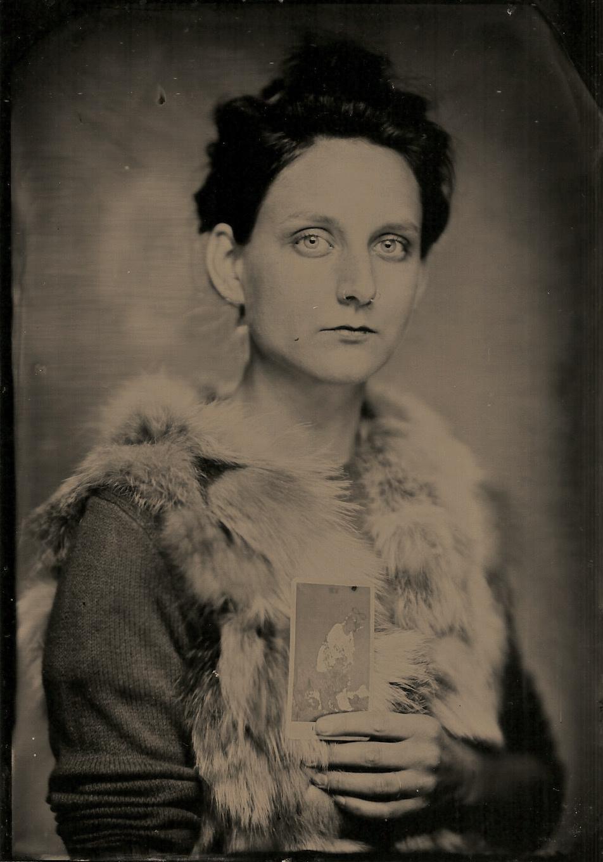 tintype by Margaret Muza, Milwaukee WI