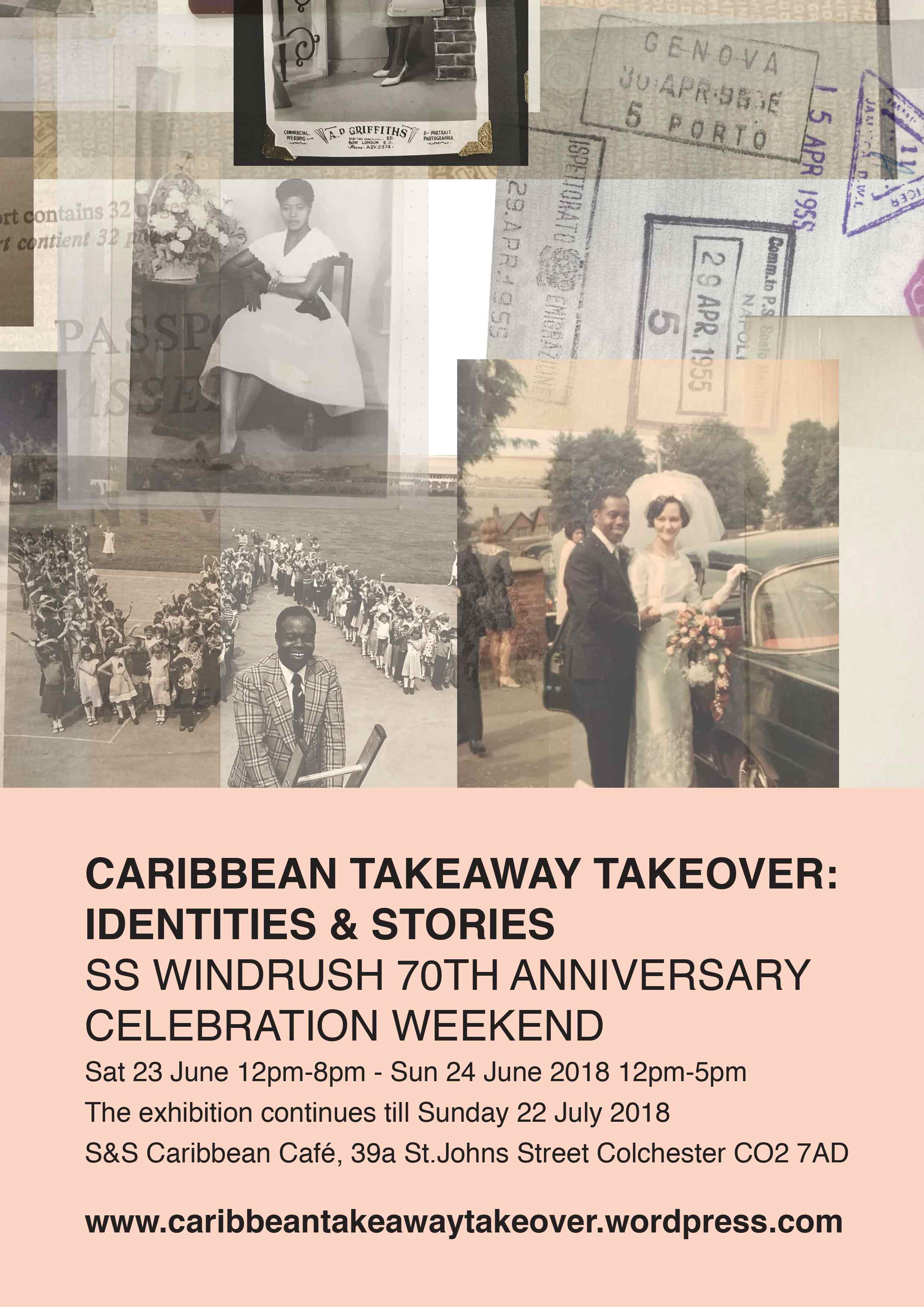 Caribbean Takeaway Takeover Poster design 03 produced by ESP