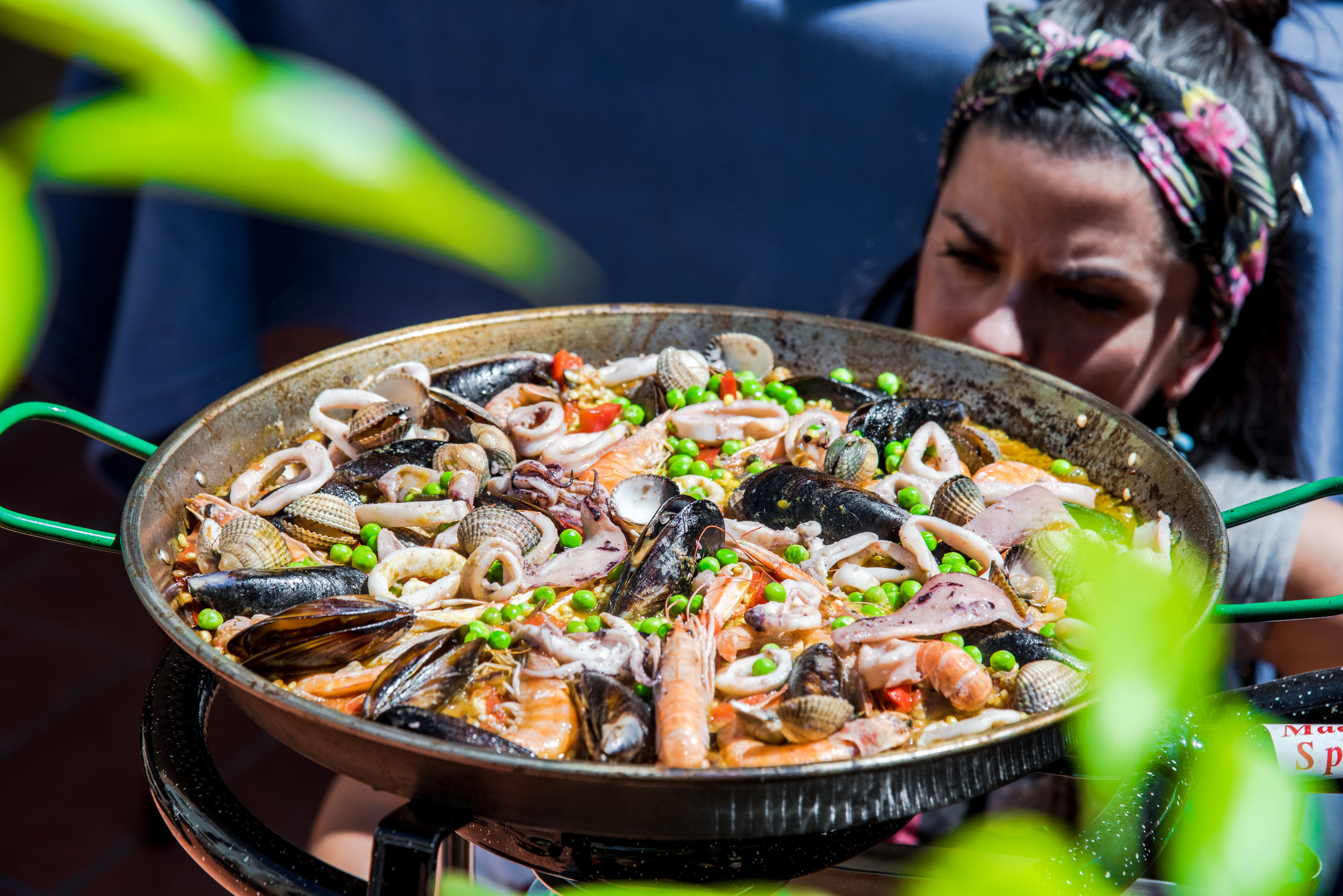 Withlocals  Paella on a Barcelona's rooftop with Mariangeles