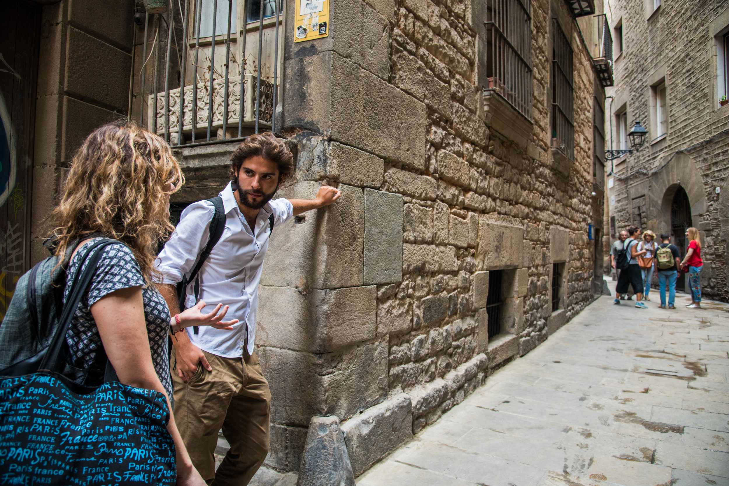 MeetJune  Jewish tour in Barcelona with Xavi