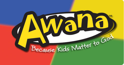 AWANA! - September 11 - April: 6:20-8:00 PM, every WednesdayAges 4 years through 5th gradeJoin us for Bible lesson time, Bible verse memorization, games, & snacks.
