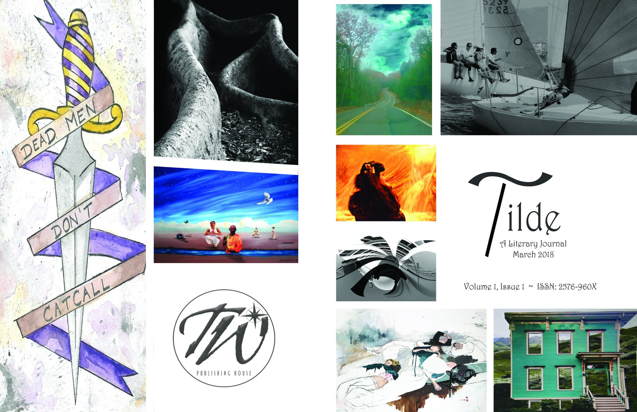 Tilde: A Literary Journal: Issue 1 spread