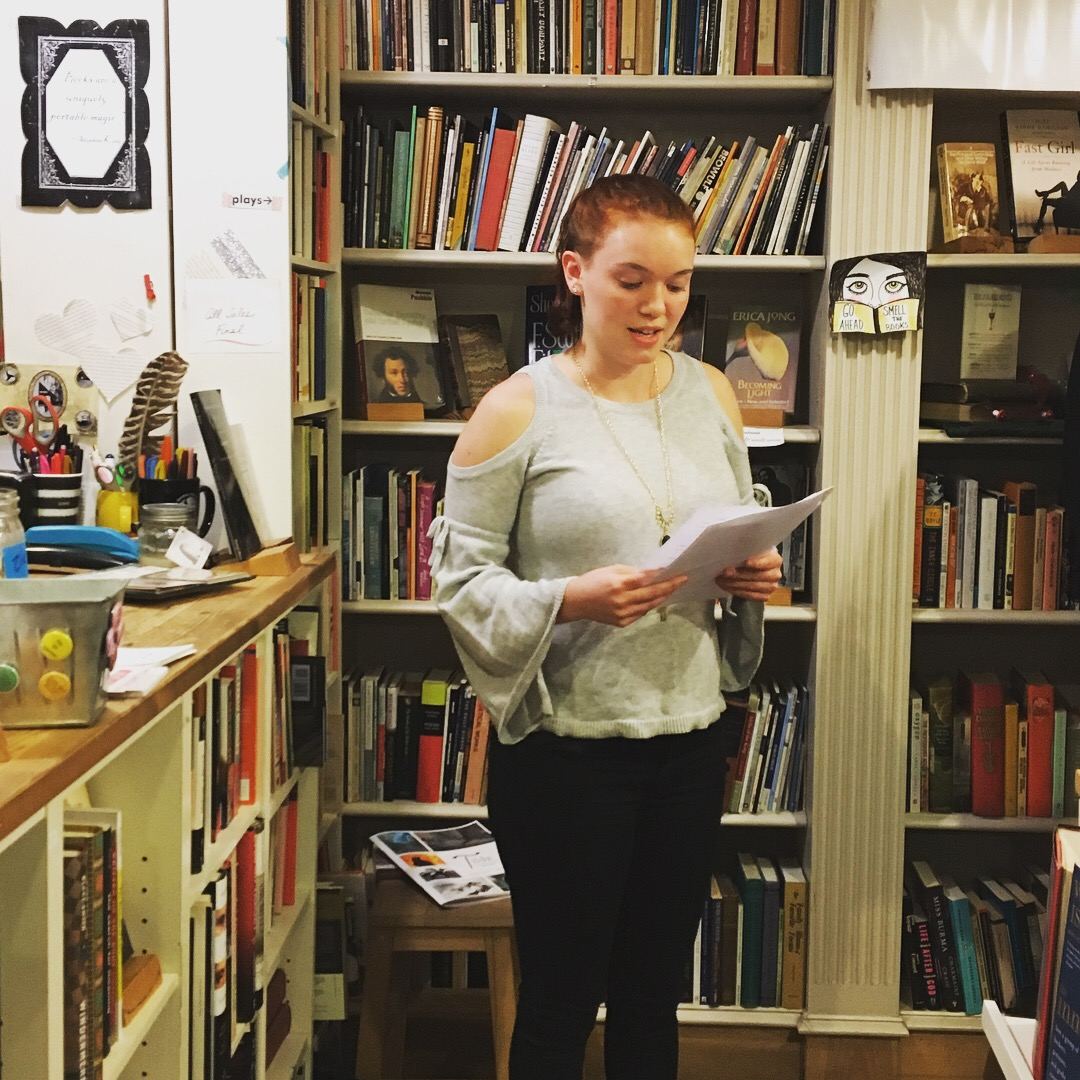 Morgan Smith reading her short story, Don't Speak Ill of the Dead.