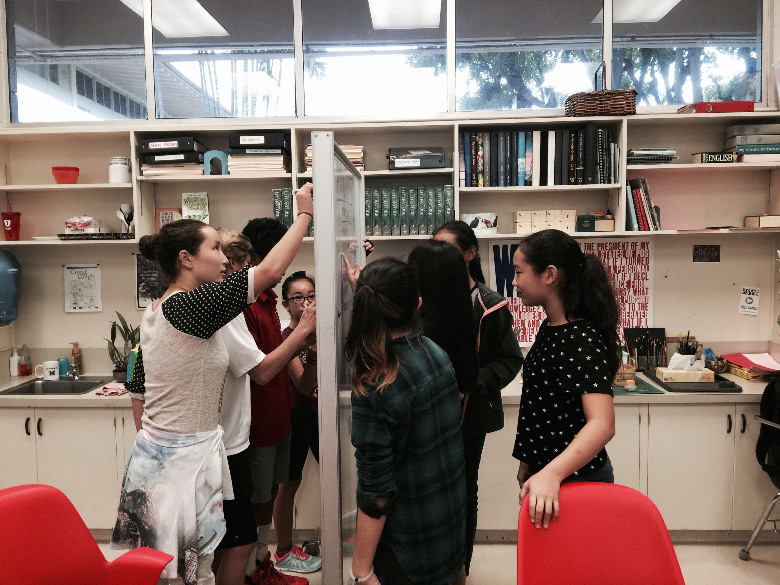 Brainstorming with Food Detective Teams
