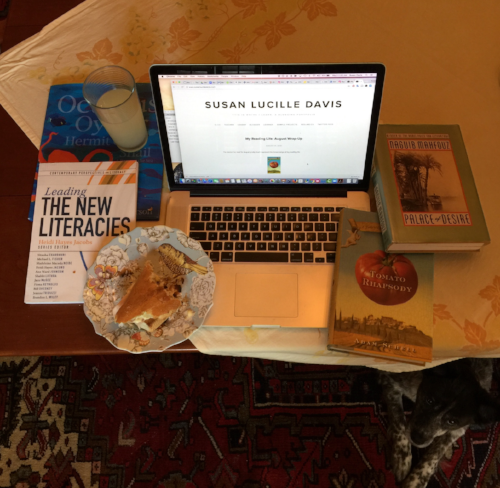 """My """"August Wrap-Up"""" post for #bookstagram."""