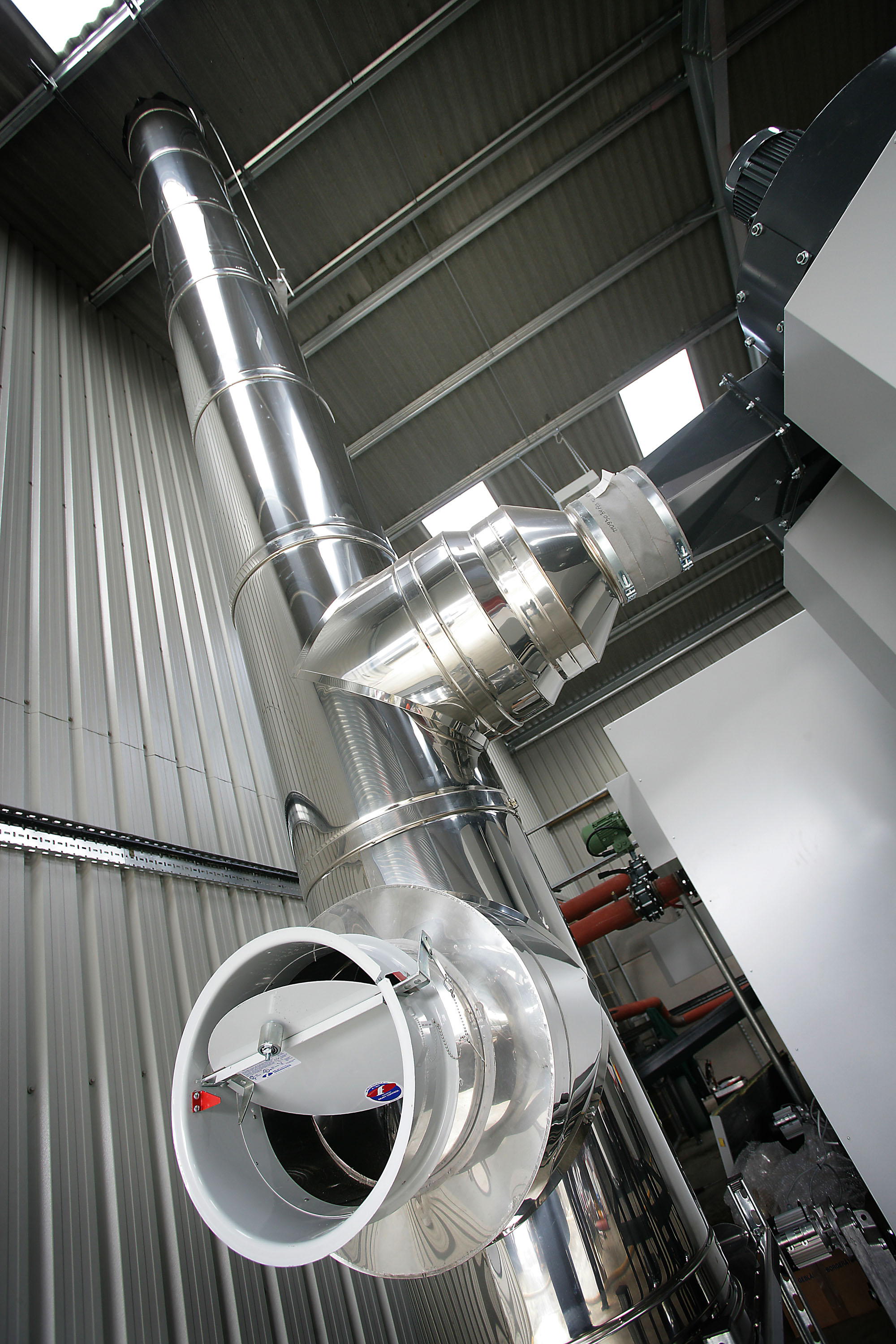 BIOMASS FLUE SYSTEMS - How we can help biomass system owners.