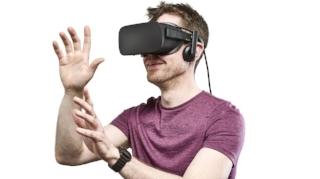 Image of Oculus Rift from Techradar.com