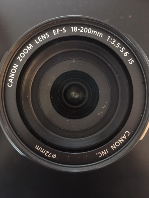 Look at the front of the lens to figure out the fstop capability. In this case the minimum at 18 mm is f3.5.