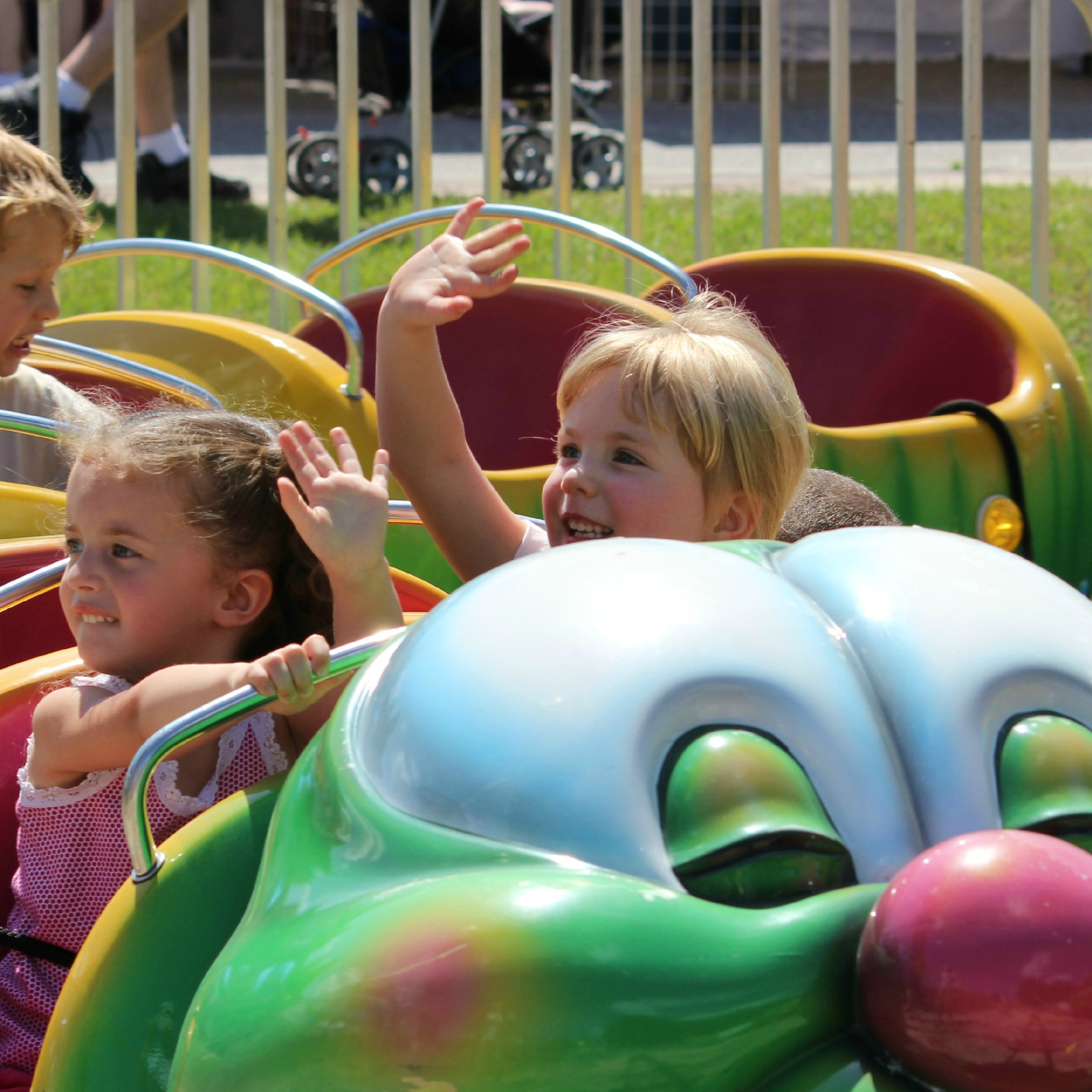 Free mechanical rides all day long!