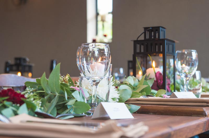 Historic dining room at the best wedding venue in Banbury