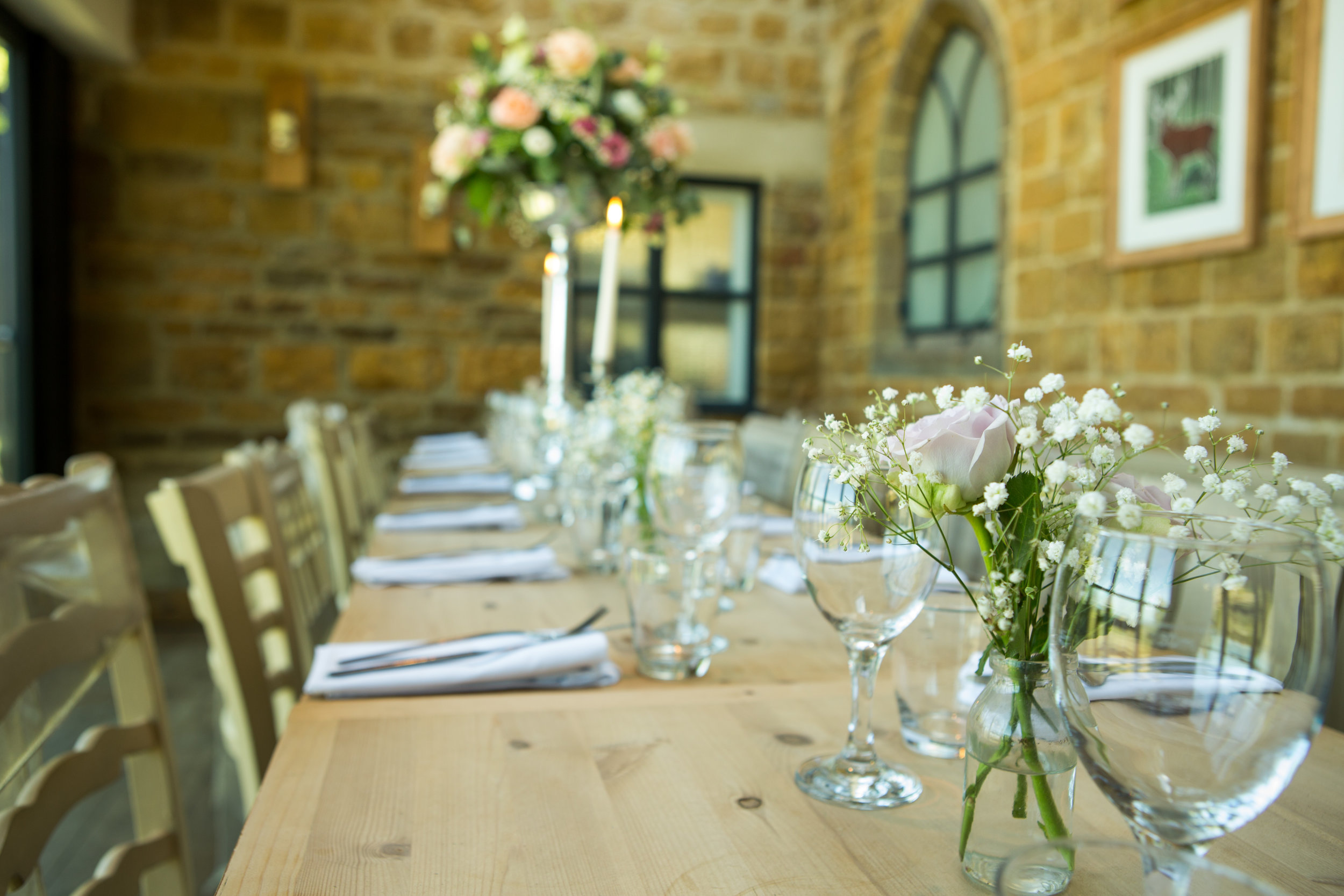 Breakfast at the best wedding venue in Banbury