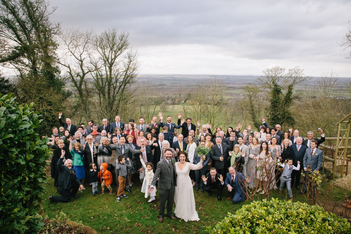 The view from the best wedding venue in Banbury