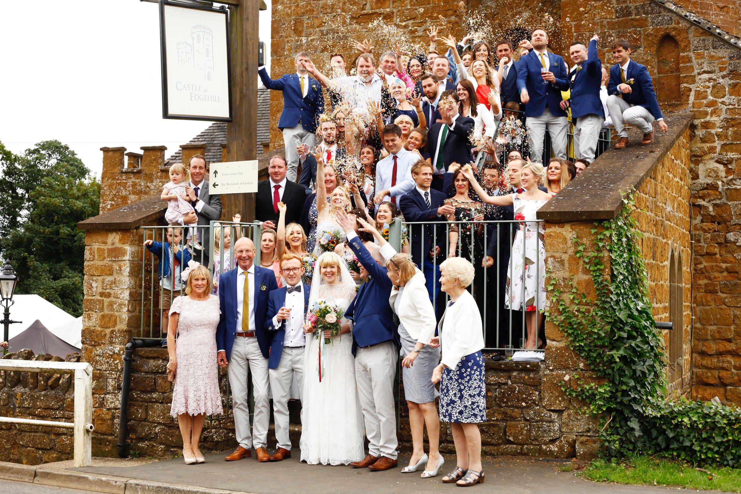 Dance floor at the best wedding venue in Banbury