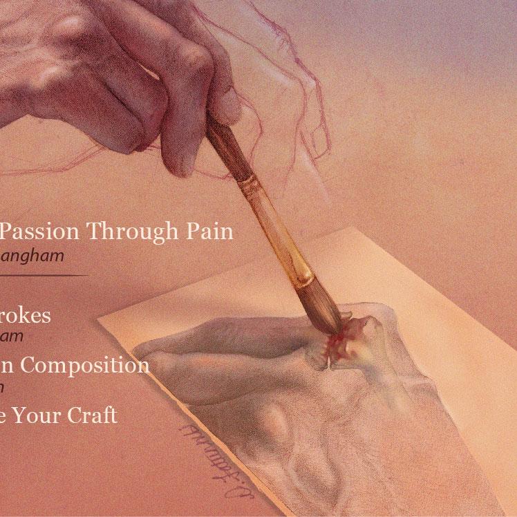 Psoriatic Arthritis Editorial Illustration