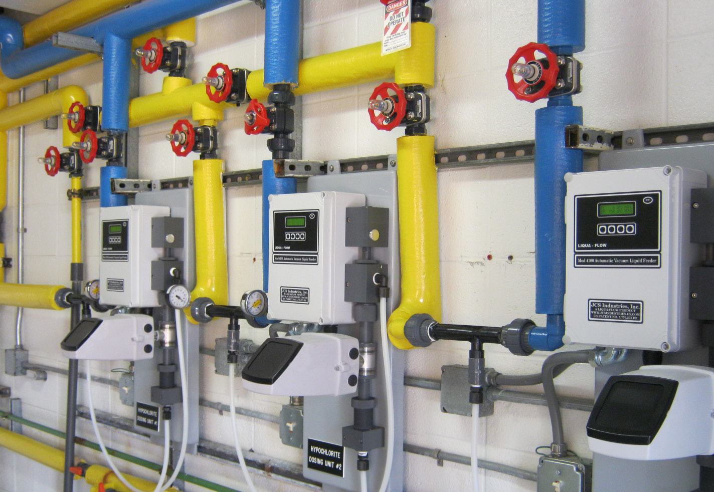 Replacement liquid vacuum hypo feeders provide more reliable chlorination for disinfection requirements.