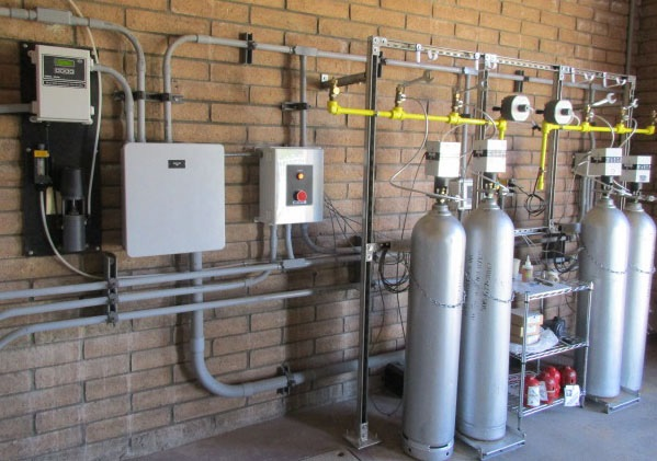 Special gas chlorination system significantly enhanced safety for gas option for disinfection, while offering other unique components and controls for reliability and efficiency.