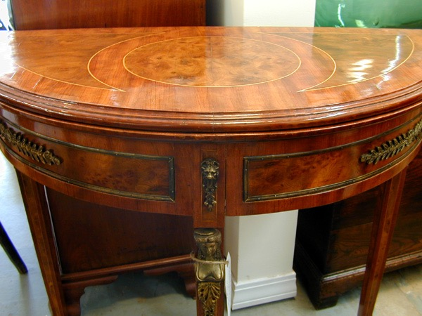 Louis 16th inlaid table.